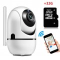 1080P Wifi Camera Automatic Motion Detection Cam + 32GB MicroSD Card