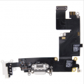 Charging Port Flex Cable for iPhone 6 Plus White