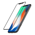 2.5D Full coverage tempered glass for iPhone X Black