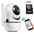 1080P Wifi Camera Automatic Motion Detection Cam + 16GB MicroSD Card